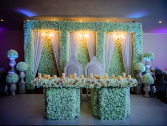 Solitaire Weddings - Head Tables Stages